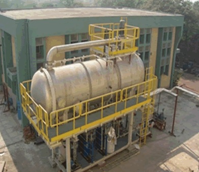 Científicos indios logran potabilizar agua sacada del mar con un reactor nuclear