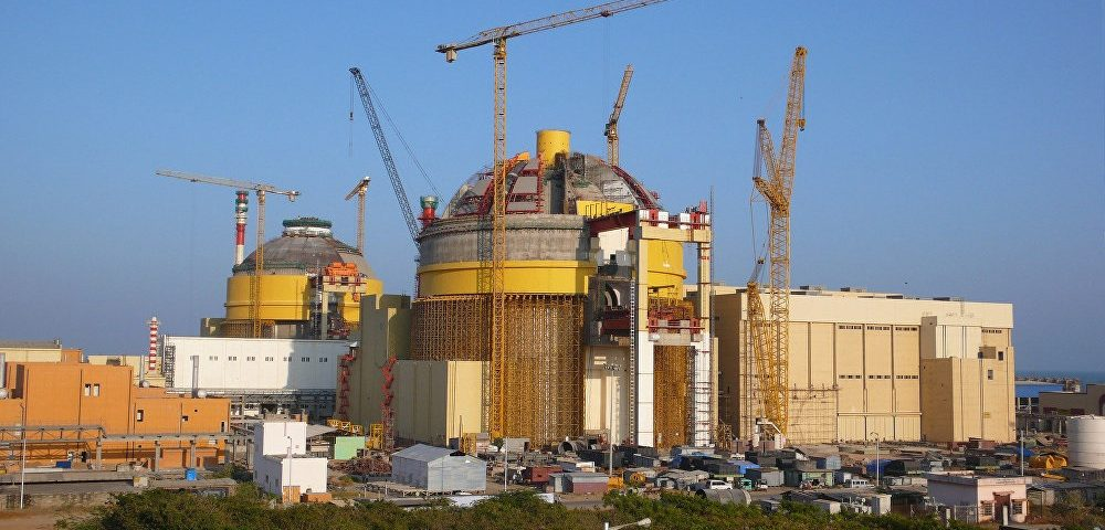 Rusia e India firman contratos para la tercera fase de Kudankulam