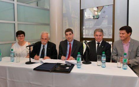 Fundación INVAP y Grupo CITES firman convenio para la creación de nuevas empresas