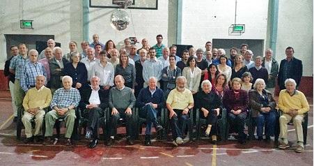 Para cerrar el año, se realizó una cumbre de ex alumnos del Balseiro