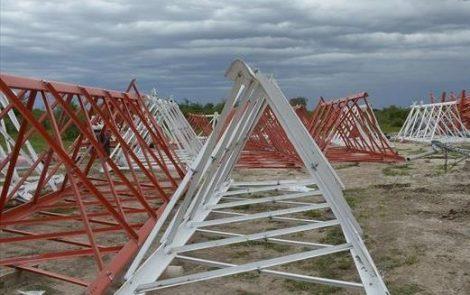 INVAP fabrica una antena de TDA para Santa Catalina