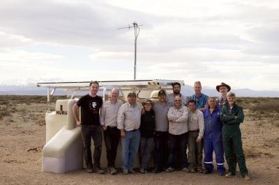 Observatorio Pierre Auger: Se instalaron las primeras estaciones de SSD