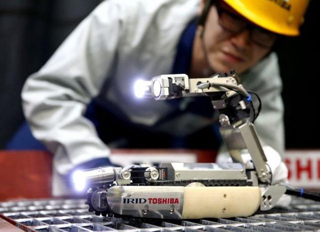 Nuevo robot analiza el reactor número 2 de Fukushima