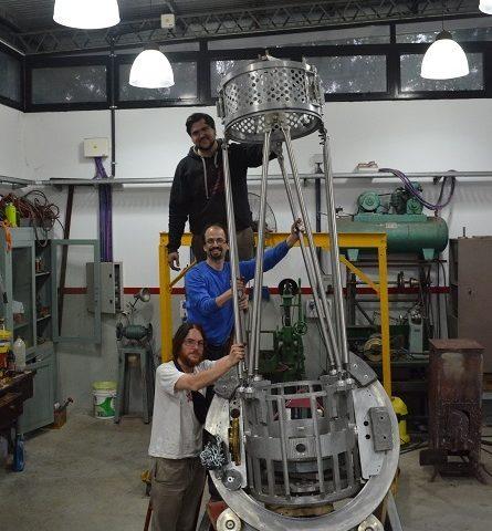 Telescopio diseñado por un investigador del CAB explorará el cielo desde Salta