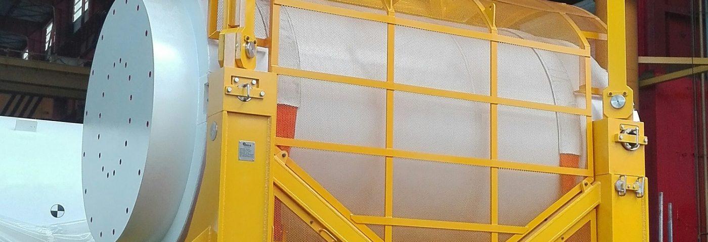 Empresa española envía a China un contenedor para transporte de combustible