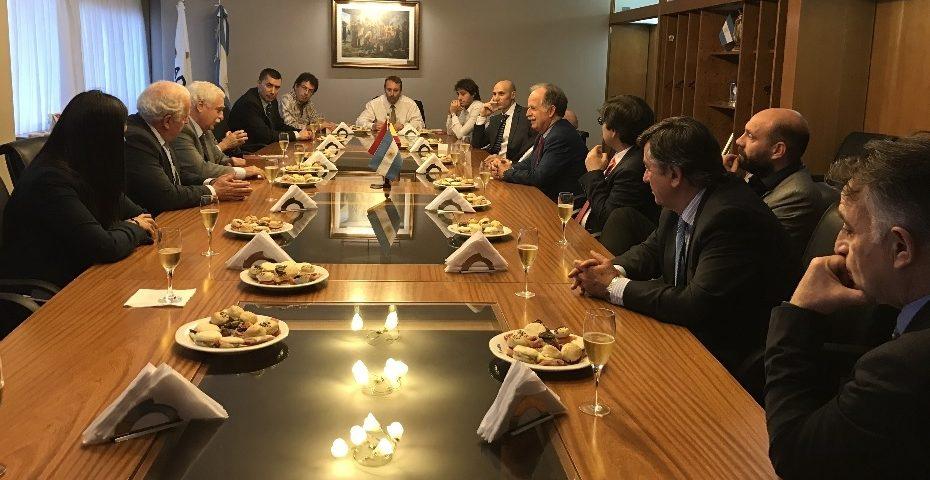 ADIMRA recibe la visita de un grupo de empresarios nucleares españoles