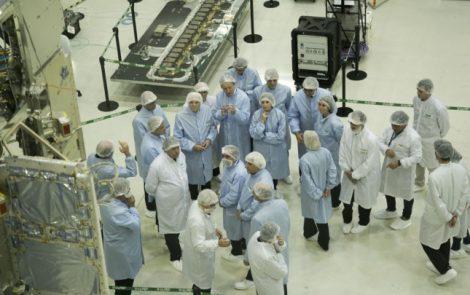 El presidente de Italia visitó INVAP y firmó acuerdos científicos