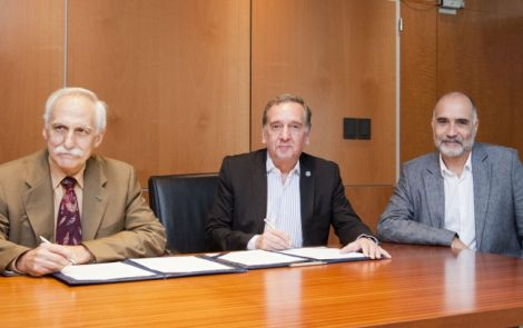 INVAP y Fundación Sadoskyfirman convenio por seguridad en sistema de trazabilidad
