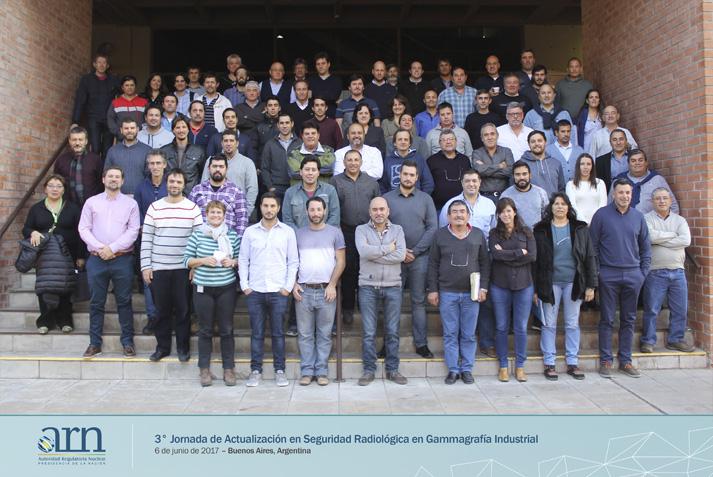 Se realizó la 3° Jornada de Actualización en Seguridad Radiológica y Gammagrafía Industrial
