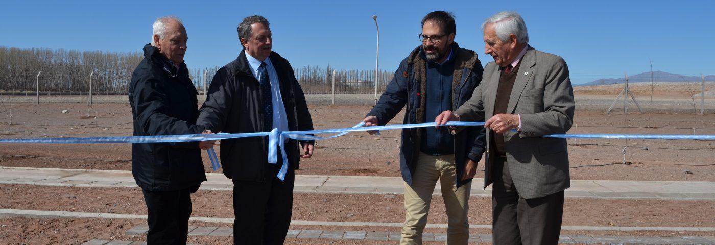 Se inauguró el Parque El Mirador en Malargüe