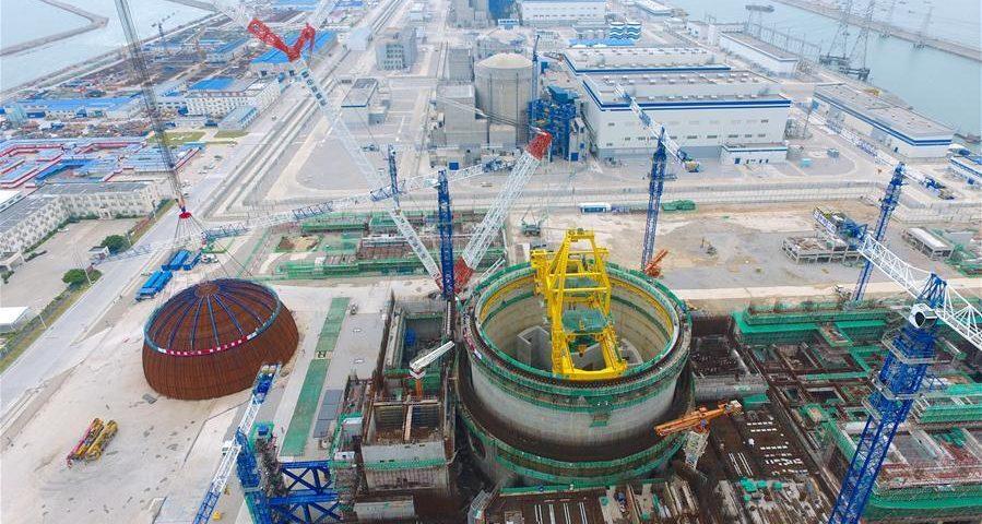 China: El reactor Hualong One supera nuevas pruebas de presión hidráulica
