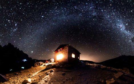 Una galaxia muy muy lejana desde Bariloche