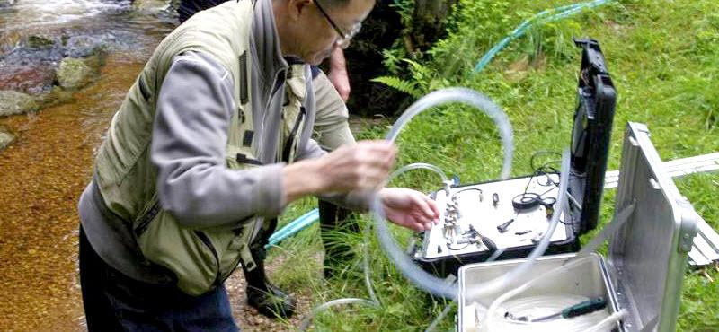 Aplicaciones nucleares para medir contaminación en aguas