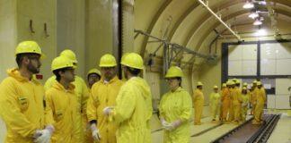 Visita de funcionarios de Cammesa a la Central Nuclear Embalse.