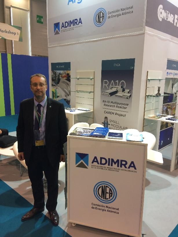 Especialista de ADIMRA Ricardo De Dicco en la WNE 2018.