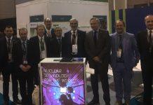 Adimra en la WNE junto a representantes de Invap, Aesa, Conuar-Fae y Nuclearis.