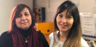Investigadoras Patricia Vázquez y Romina Arreche